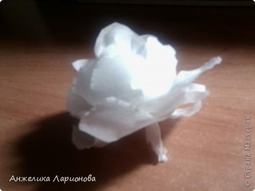 Вам потребуется:  Цветная гофрированная бумага – для цветка;  Зелёная гофрированная бумага – для чашелистиков и листьев;  Проволока «волосы ангела»;  Металлический стебель, шпажка (зубочистка).  Шаблоны лепестков (А и В), чашелистика (С) и листа (Д) фото 10