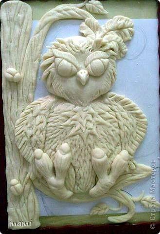 Добрый вечер, всем!!! Вот такую сову сделала на заказ любительнице этих благородных птиц. фото 4
