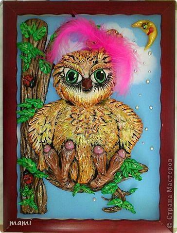 Добрый вечер, всем!!! Вот такую сову сделала на заказ любительнице этих благородных птиц. фото 2