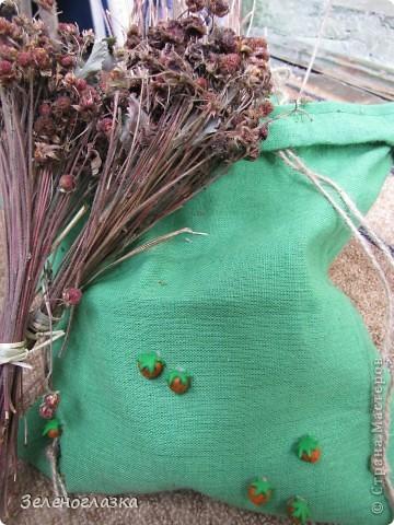 Мешочки для хранения трав фото 3