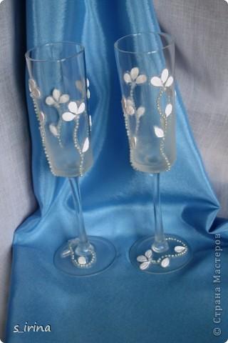 Опять свадебные бокалы фото 1