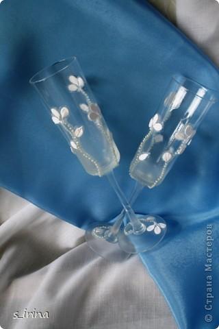 Опять свадебные бокалы фото 3