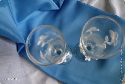 Опять свадебные бокалы фото 6