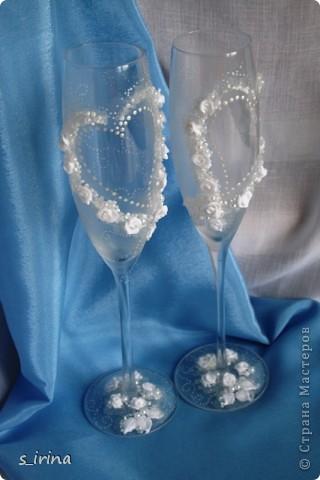 Опять свадебные бокалы фото 9