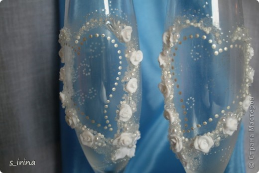 Опять свадебные бокалы фото 12