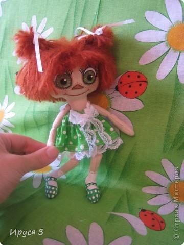 куколка Рыжунька фото 4