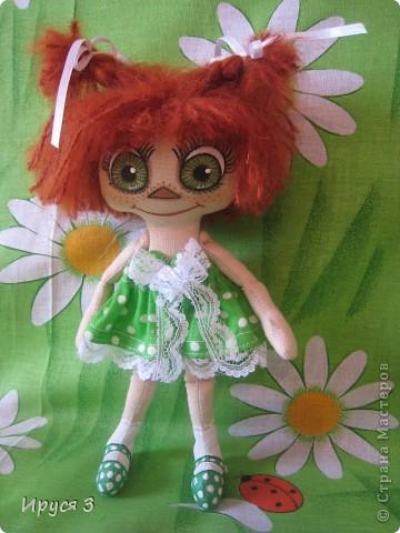 куколка Рыжунька фото 5