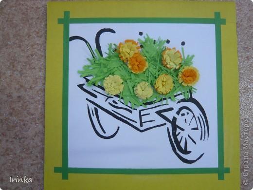 Этим летом я работала 1 и 2 смену в детском оздоровительном центре в городе-курорте Анапа. На кружке дети сделали подарки своим родным и близким, а что может быть лучше цветов. Летом такое буйство красок........ фото 4