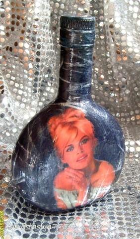 Вот такая бутылочка совершенно случайно родилась в моих руках:)) фото 1