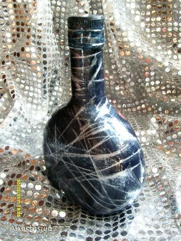 Вот такая бутылочка совершенно случайно родилась в моих руках:)) фото 2
