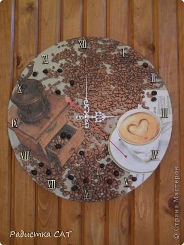 Кофейные часики фото 1