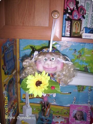 Клава - моя первая кукла-попик фото 7