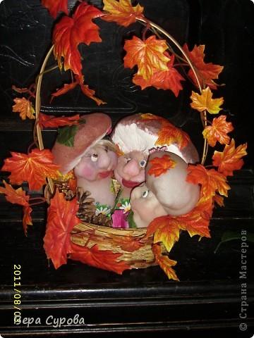 Счастливая грибная семья фото 8