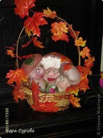 Счастливая грибная семья фото 1