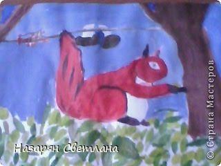 """Рисунки нарисованные в 3 классе.  Мой рисунок на конкурс """"Служу России"""". фото 2"""