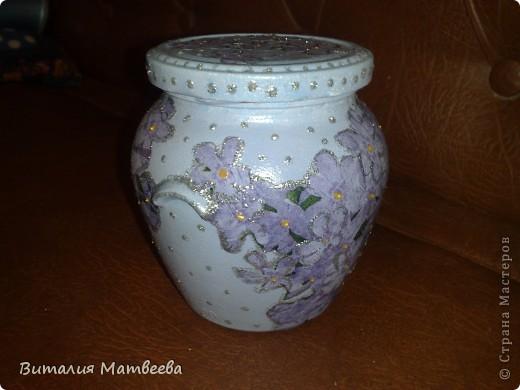 Баночка под цветочный чай. В подарок фото 1