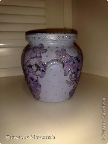 Баночка под цветочный чай. В подарок фото 3
