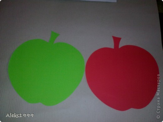 Очень легкий и короткий МК. Решила украсить кухню. И сделала такие вот веселенькие яблочки. Они очень легки в исполнение и их может сделать даже ребенок. Начнем фото 3