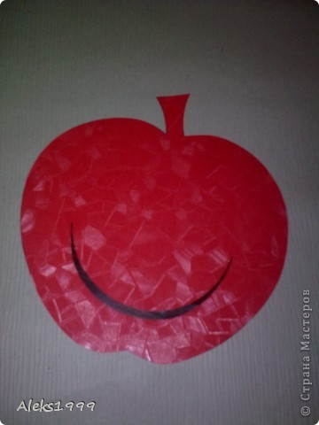 Очень легкий и короткий МК. Решила украсить кухню. И сделала такие вот веселенькие яблочки. Они очень легки в исполнение и их может сделать даже ребенок. Начнем фото 4