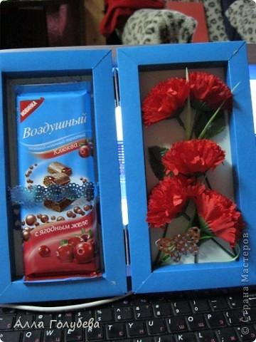 Подарок для дочки подруги.Юле очень нравится голубой цвет,вот и пришло в голову такое... фото 2