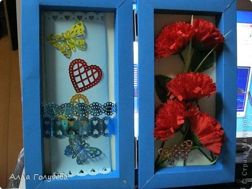 Подарок для дочки подруги.Юле очень нравится голубой цвет,вот и пришло в голову такое... фото 3
