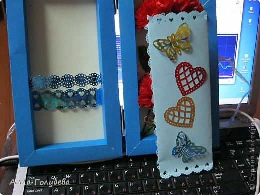 Подарок для дочки подруги.Юле очень нравится голубой цвет,вот и пришло в голову такое... фото 4