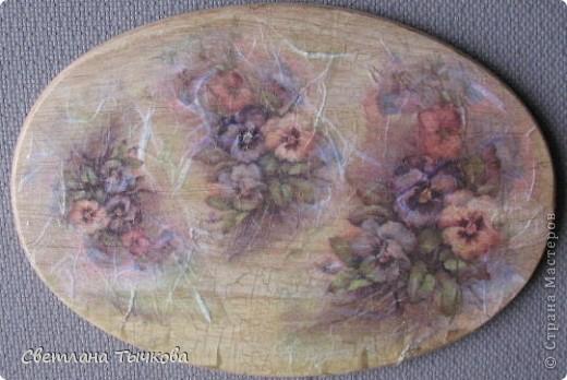 Виола-анютины глазки в народе,мне так понравилась эта тема,что использовала всю рисовую карту с виолой фото 4