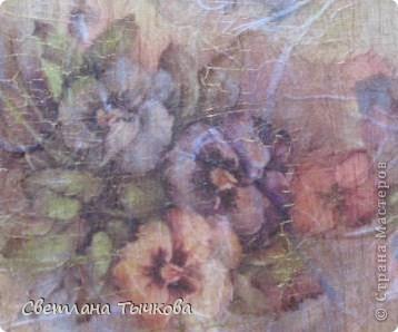 Виола-анютины глазки в народе,мне так понравилась эта тема,что использовала всю рисовую карту с виолой фото 3