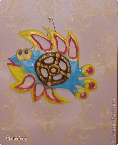 повторюшка рыбки Inna-mina... да простит меня Инна, в кое веке моя мне нравится даже больше оригинала :))) фото 3