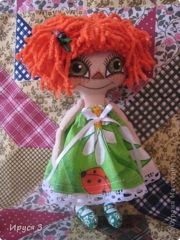 Куколка Веснушка-Веселушка фото 5