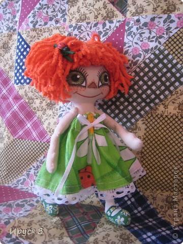 Куколка Веснушка-Веселушка фото 6