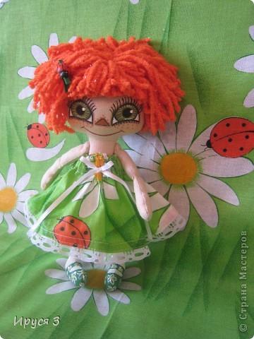 Куколка Веснушка-Веселушка фото 1