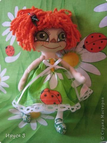 Куколка Веснушка-Веселушка фото 3