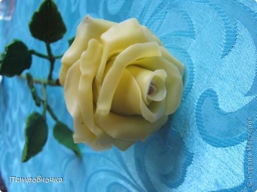 Вот вчера сваяла еще розу. фото 1