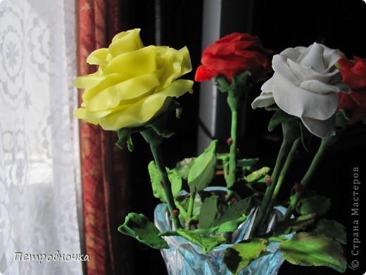 Вот вчера сваяла еще розу. фото 5