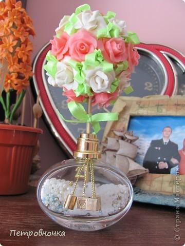 Вот вчера сваяла еще розу. фото 8