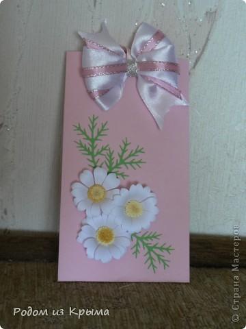 Мужчина дома сам выращивает орхидеи, поэтому других вариантов оформления открытки и не было... фото 5