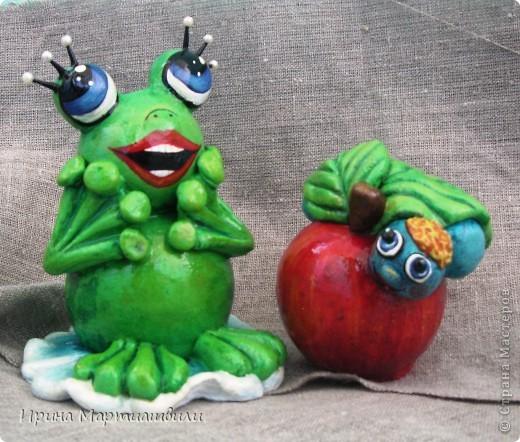 Еще одна лягушечка и яблочко фото 1