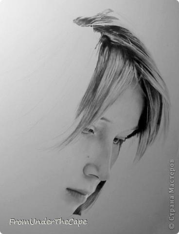 Первая стадия портрета. фото 1