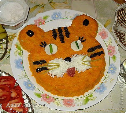 Рецепт салат детский