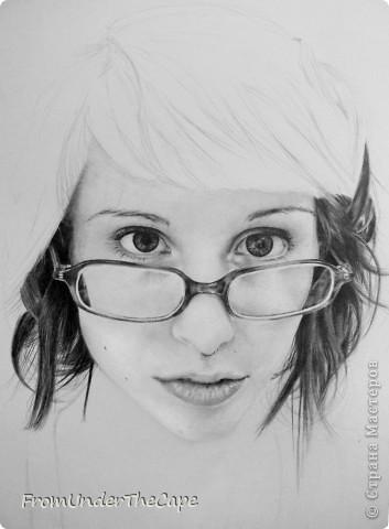 Первая стадия портрета. фото 4