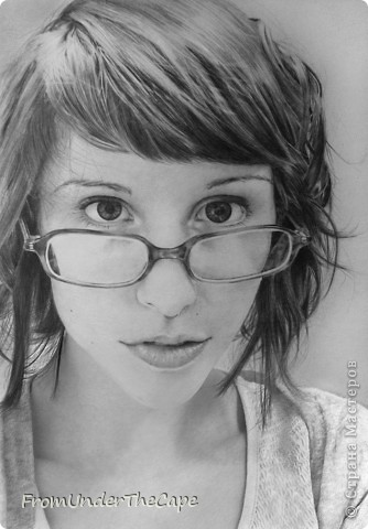Первая стадия портрета. фото 5