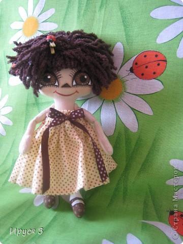 куколка Шоколадка  фото 1