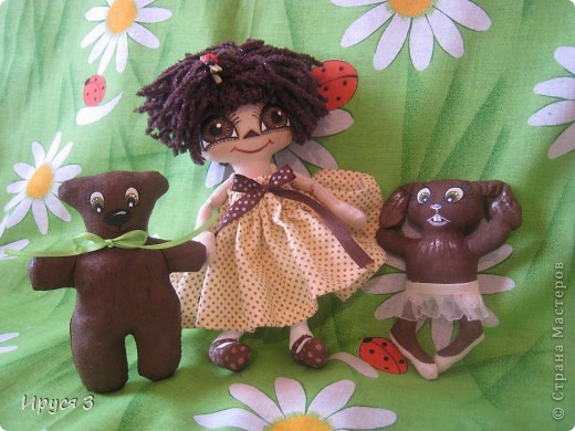 куколка Шоколадка  фото 4