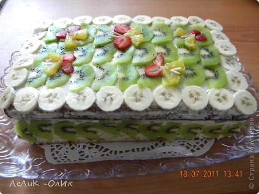 Здравствуйте дорогие!!! Торт для поднятия хорошего настроения себе и близким. фото 3