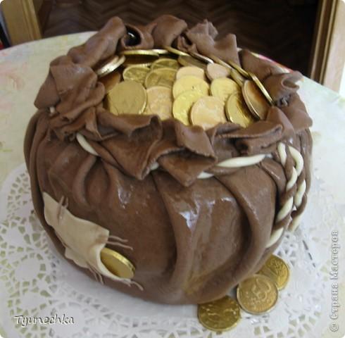 Такой тортик пекла на День Рождения для любимой мамули :) фото 5