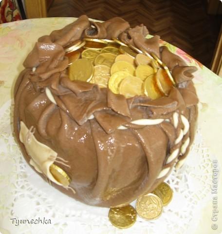 Такой тортик пекла на День Рождения для любимой мамули :) фото 2