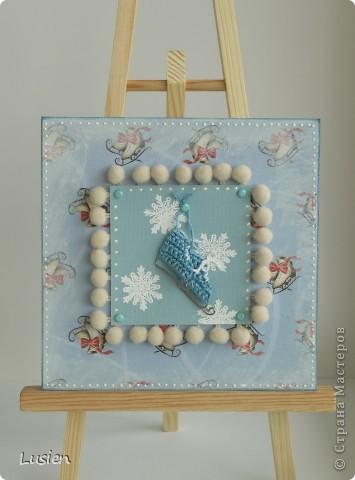 Винтажная и новогодняя открытки:) фото 2