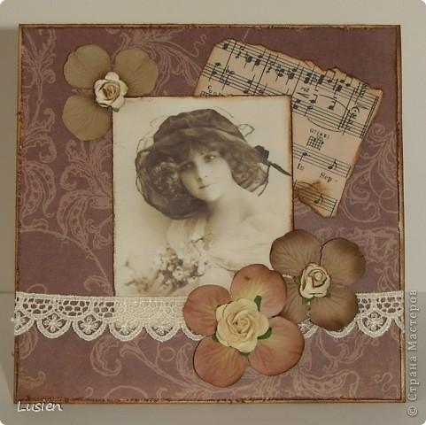 Винтажная и новогодняя открытки:) фото 1