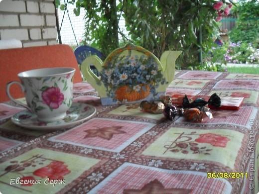 коробочка для чайных пакетиков фото 1